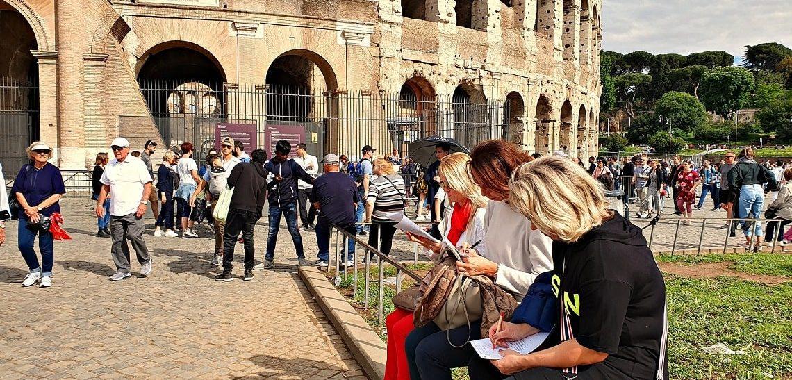 Передвижной курс итальянского языка в Риме и Лацио