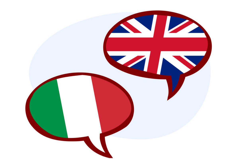 Итальянский + Английский