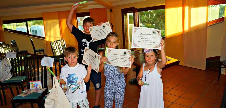 Итальянский на пляже для детей и подростков (4-15 лет) с профессиональными преподавателями